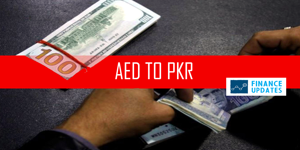 AED TO PKR (UAE Dirham to Pakistan Rupee)