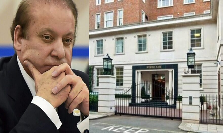 NAB decided to paste Legal Summon Notice at Mian Nawaz Sharif's Residence