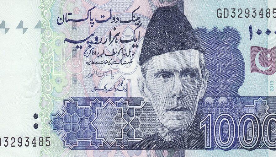 Pakistan's currency rupee weaken