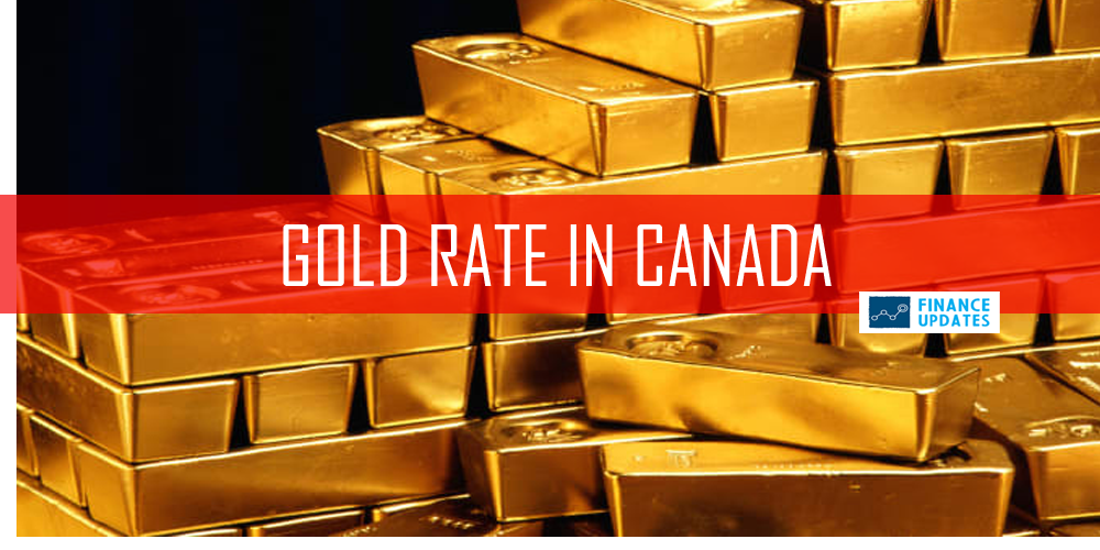 Gold Rate in Canada