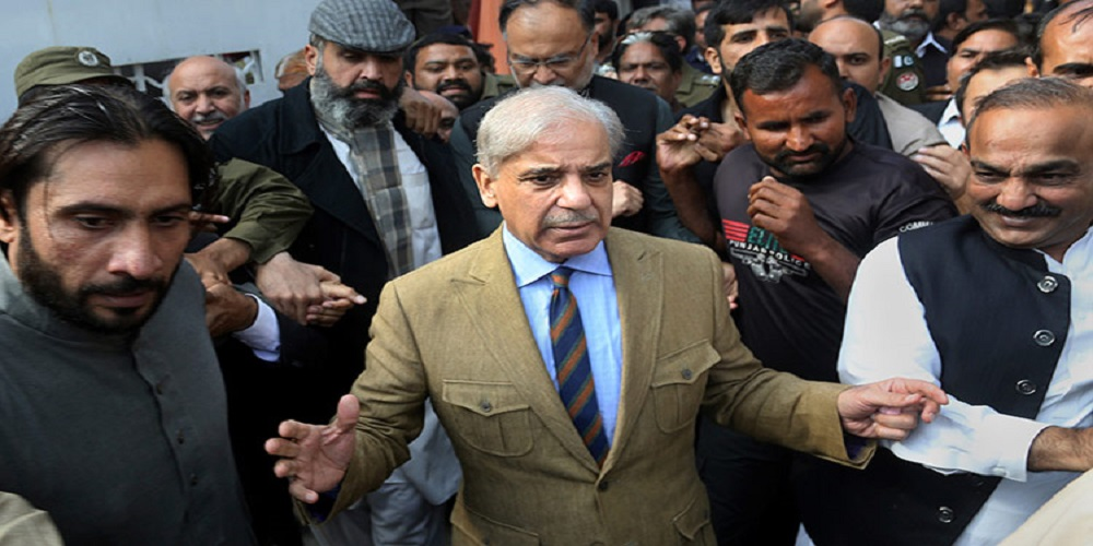 PML-N President Shahbaz Sharif Arrest in Money Laundering Case