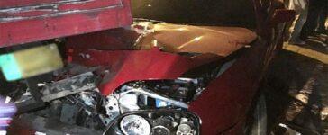 Shoaib Malik car accident