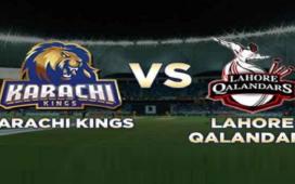 PSL 2021 Live score: KK VS LQ Live match
