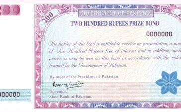 Rs 200 prize bond list 2021