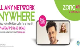 Zong Whatsapp Offer
